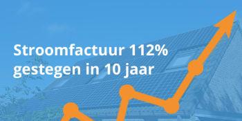 LAATSTE NIEUWS: stroomfactuur 112% gestegen in 10 jaar!