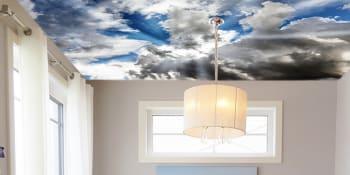 Plafondbehang. Durft u het aan?