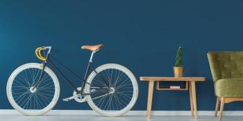 7 creatieve ideeën om je fiets op te bergen in huis