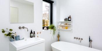 Een botanische badkamer creëert u zo!