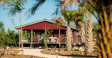 Bonaire Red palm Village, 12 villa's, 10 studio's restaurant en kantoor