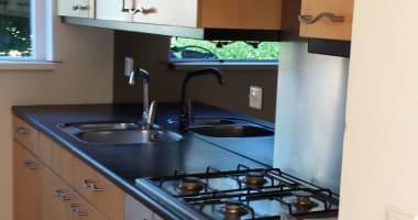 keuken en hoekbank