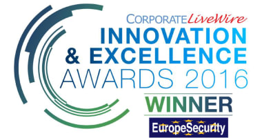 EuropeSecurity wint Innovation & Excellence Award