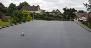 Renovatie van het plat dak: isoleren, herafdichten met EPDM Firestone