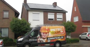 Zonnepanelen op woning en garage – Itteren 6,9 kWp