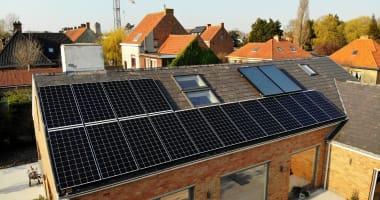 JA Solar zonnepanelen in Oostduinkerke
