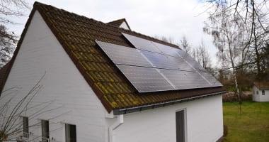 JA Solar zonnepanelen in Hamme