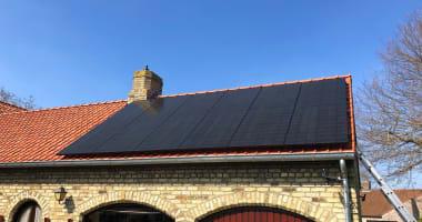 LG zonnepanelen in Sijsele