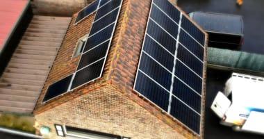 LG zonnepanelen in Veldegem