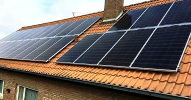 LG zonnepanelen in Kruibeke