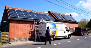 Canadian Solar zonnepanelen in Bassevelde