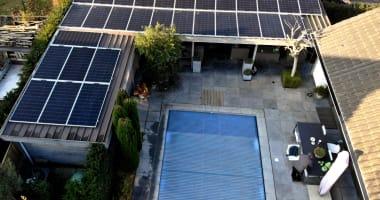 LG zonnepanelen in Zomergem