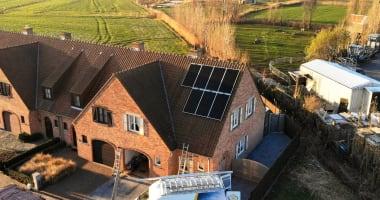 LG zonnepanelen in Knokke-Heist