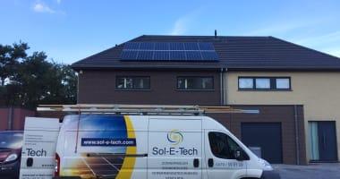 JA Solar zonnepanelen in Sleidinge