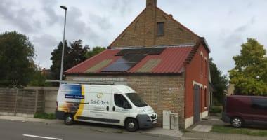 JA Solar zonnepanelen in Gistel