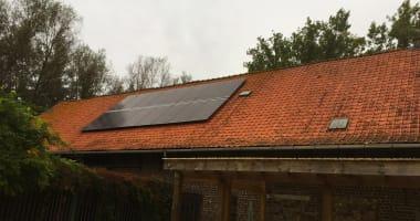 JA Solar zonnepanelen in Kaprijke