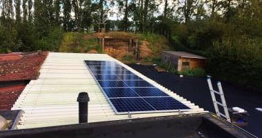 JA Solar zonnepanelen in Bassevelde