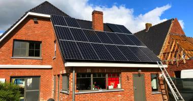 JA Solar zonnepanelen in Merkem