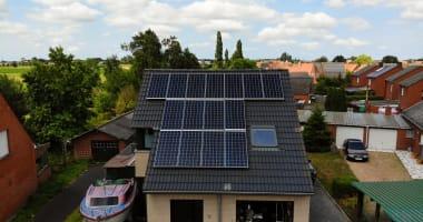 JA Solar zonnepanelen in Ruddervoorde