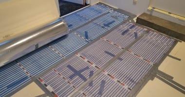 Project Tuk infrarood vloerverwarming