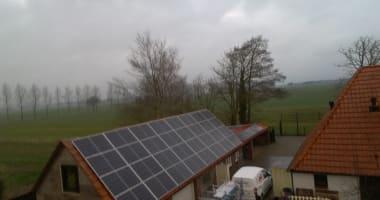 Project Ter Idzard zonnepanelen