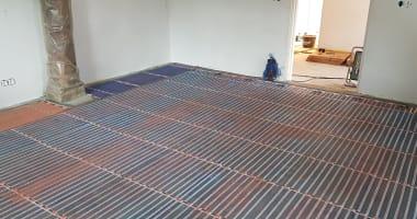 Project Ter Idzard infrarood vloerverwarming
