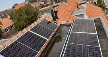 Mooie en nette zonnepanelen project in Haarlem