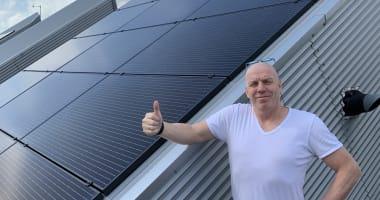 Nette en van goede kwaliteit zonnepanelen project in Lelystad