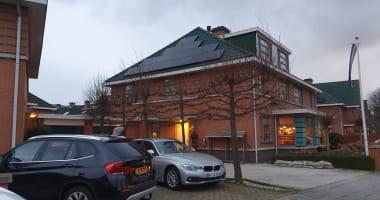 Zonnepanelen op uw schuine dak