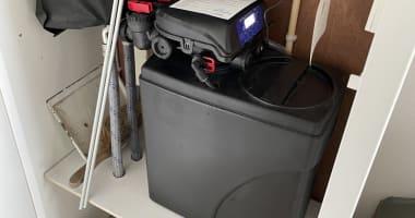 Plaatsing waterontharder
