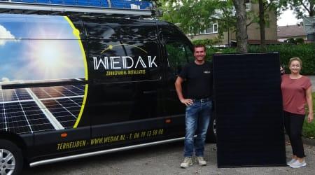 WEDAK zonnepaneel installaties, vakkundig en betrouwbaar!