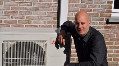 Air heating & cooling center BV