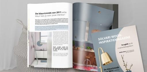 Nieuw: het wooninspiratiemagazine van Solvari!