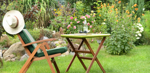 Aménager son jardin pour en profiter toute l'année