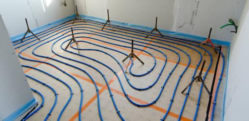 De voordelen van vloerverwarming