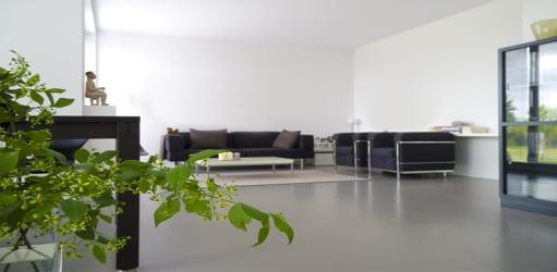 De gietvloer: dé vloer die elke kamer in jouw huis ruimer maakt!
