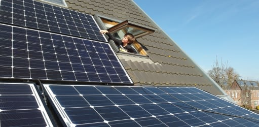 40% meer zonne-energie in 2017