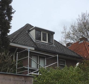 Nieuwe dakkapel plaatsen