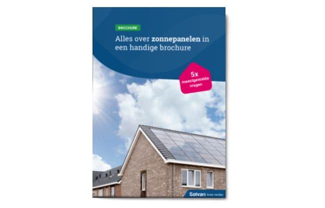 Zonnepanelen brochure