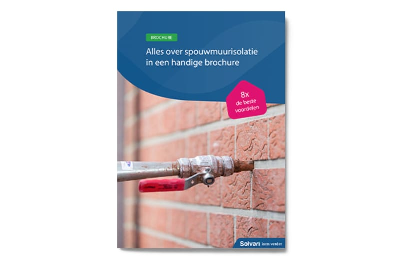 spouwmuurisolatie brochure