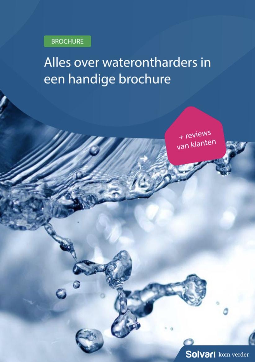 Alles over waterontharders in een handige brochure!