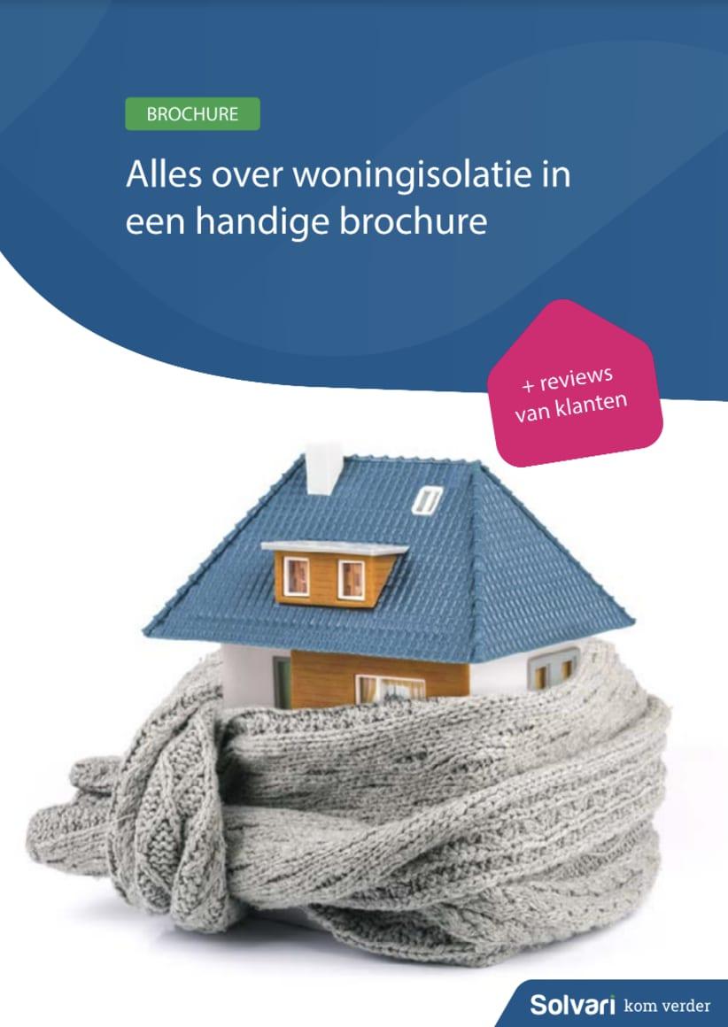 Alles over je huis isoleren in een handige brochure!