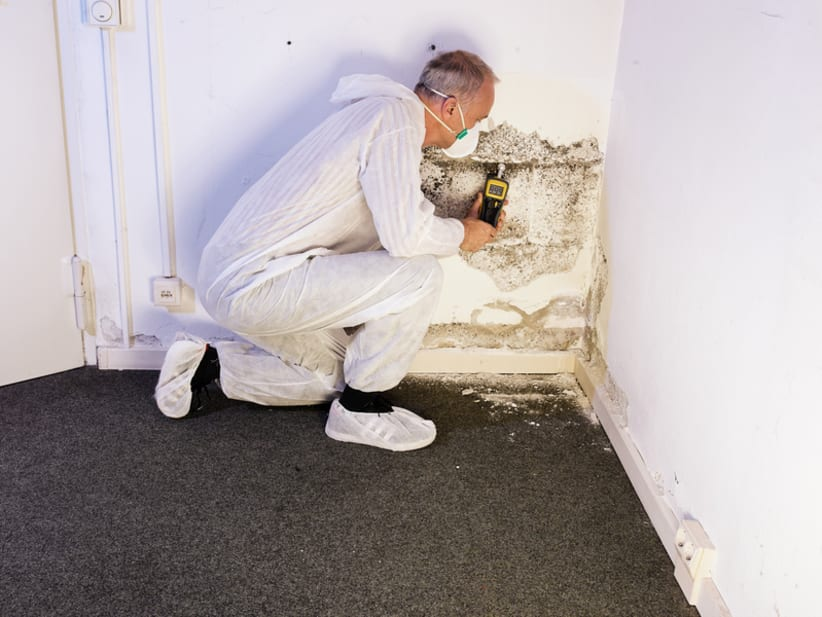 Voorbereiding muren impregneren of injecteren
