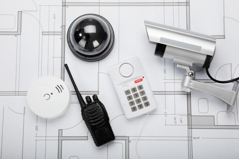 alarmsysteem onderdelen