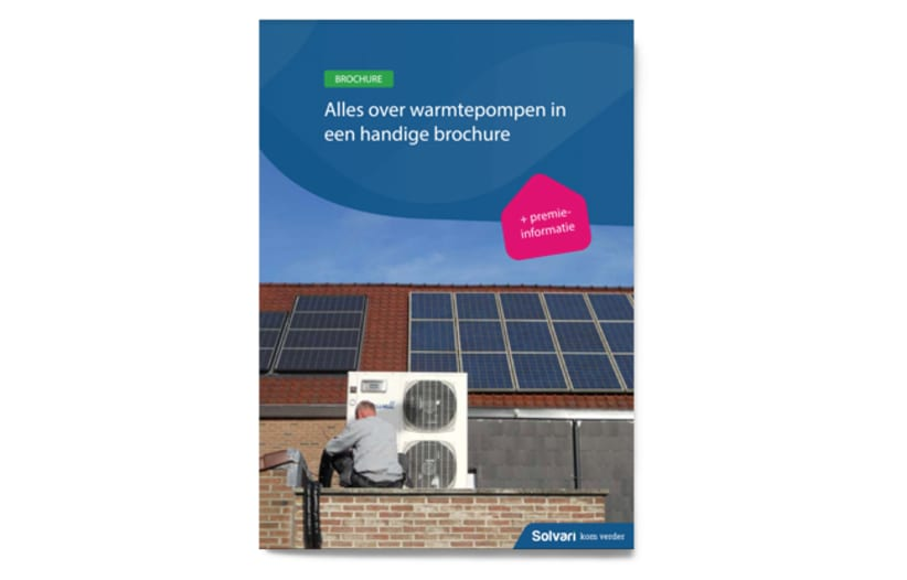 Alles over warmtepompen in een handige brochure!