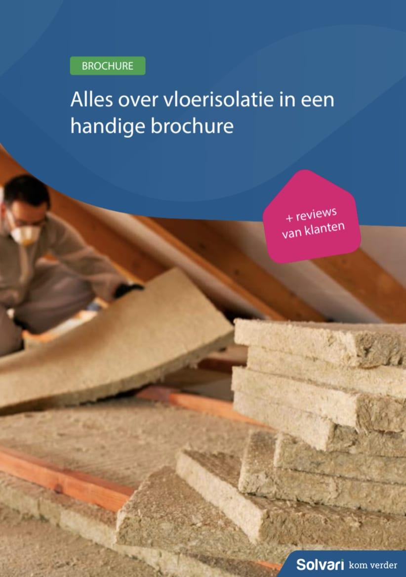 Alles over vloerisolatie in een handige brochure!