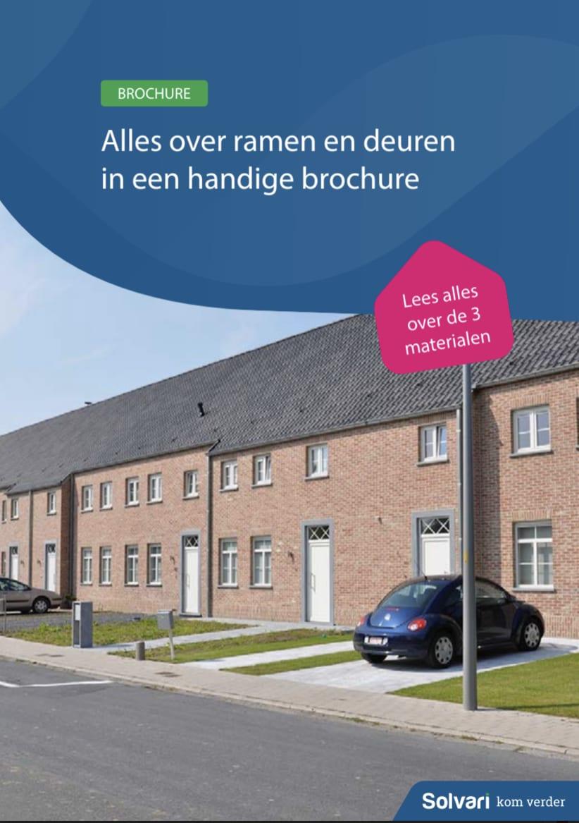 Alles over ramen en deuren in een handige brochure!