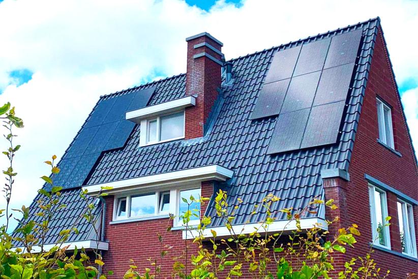 zonnepanelen op dak woning