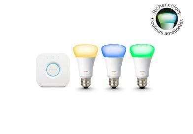 Amazon – Philips Hue White & Color Starter Kit – $170