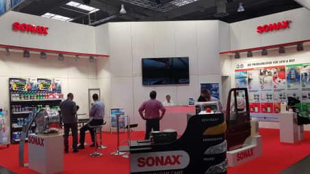 SONAX Stand IAA Nutzfahrzeuge